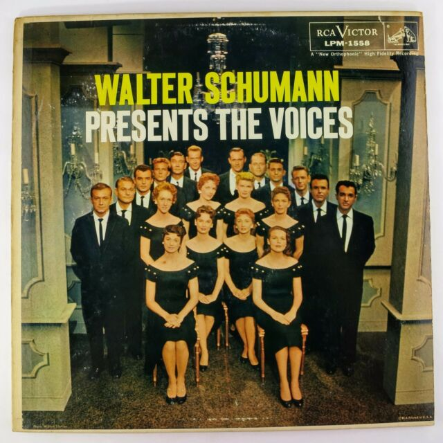 Vinyl Record	The Voices Of Walter Schumann	Walter Schumann Presents The Voices	L
