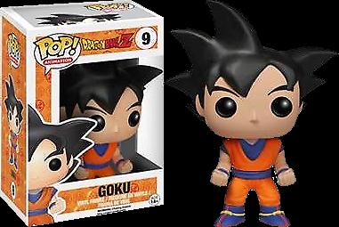 Black Hair Goku Funko Pop Vinyl Figure Dragon Ball Z Exclusive Animation #9