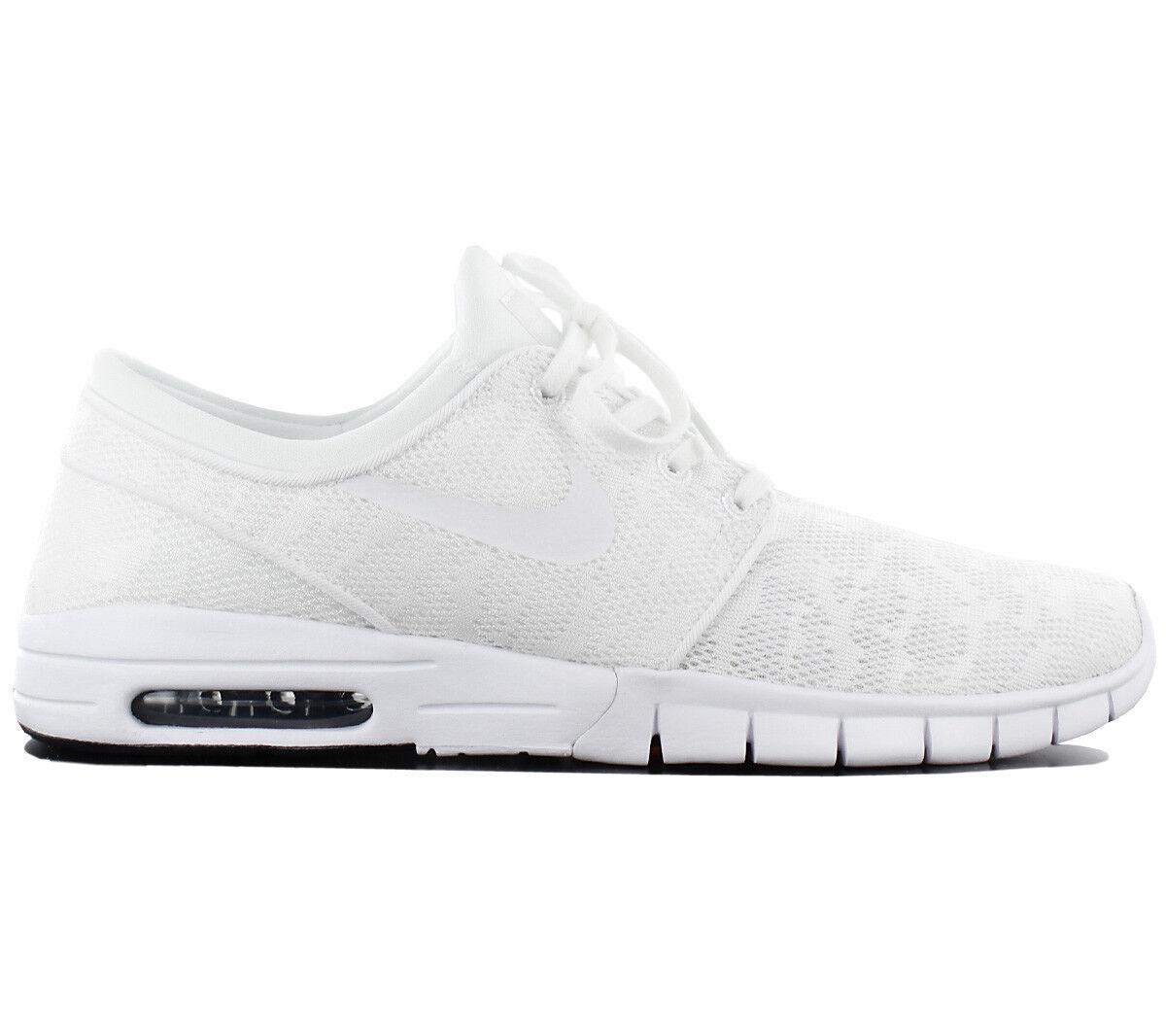 Nike Sb Stefan Janoski Air Max Uomo  White  Shoes 631303 114