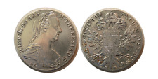 FA-W0016- Restrict  AUSTRIA 1780 MARIA THERESIA THALER SILVER COIN