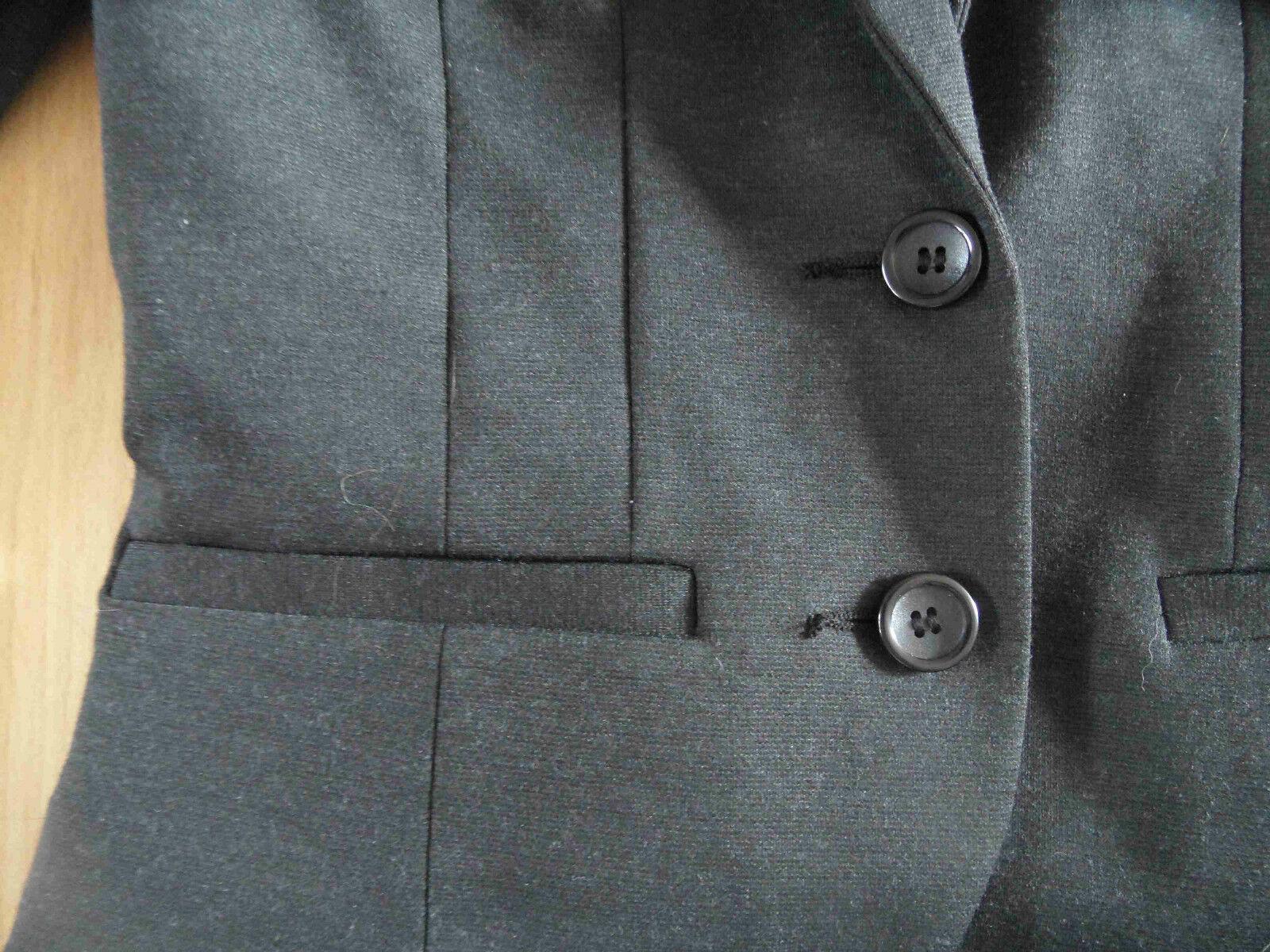 H&M toller Blazer grau mit viel Strass Strass Strass Gr. 36  08-14   Kaufen Sie beruhigt und glücklich spielen    Großer Räumungsverkauf    Viele Sorten  a87924