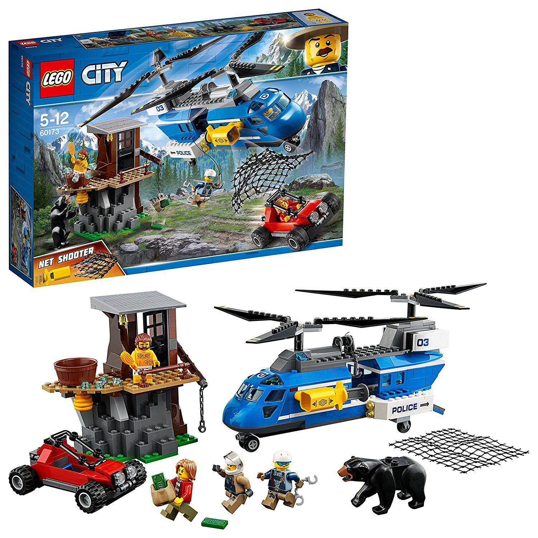 migliore vendita LEGO città 60173 - - - Arresto en la montaña . De 5 a 12 años  distribuzione globale