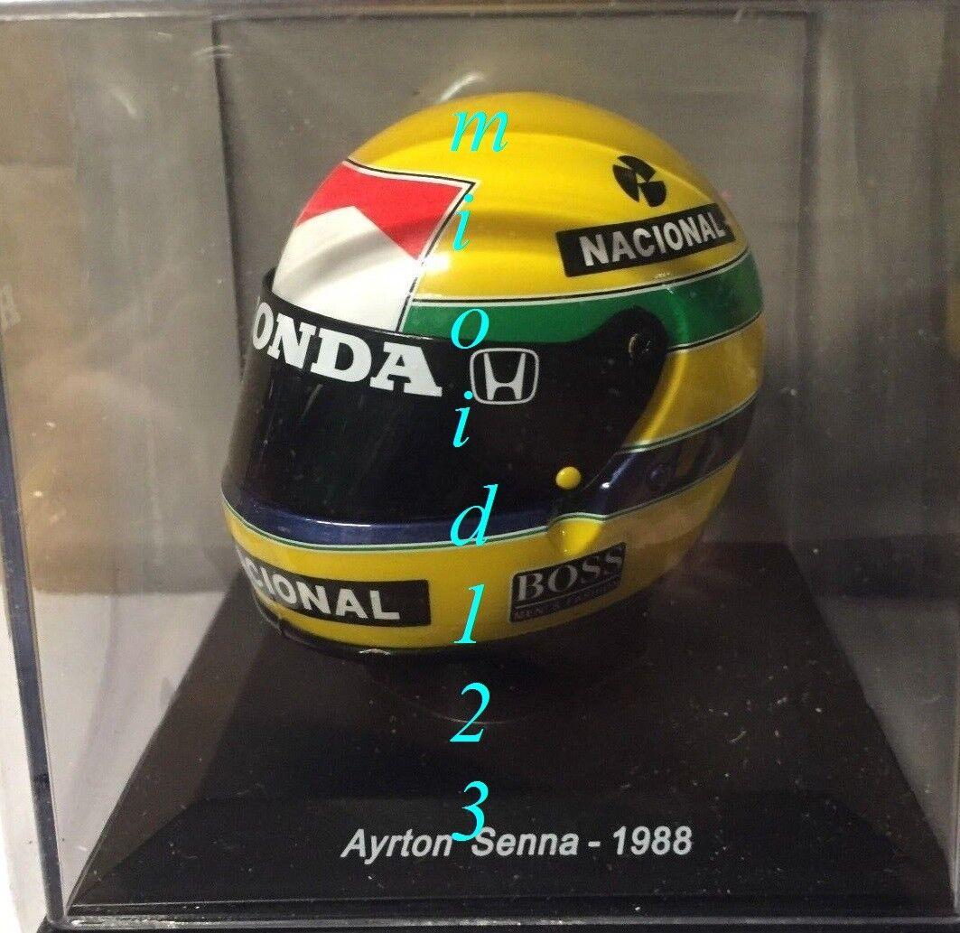 1988 - AYRTON SENNA    BELL XFM1 - 1 5 -  articles de nouveauté