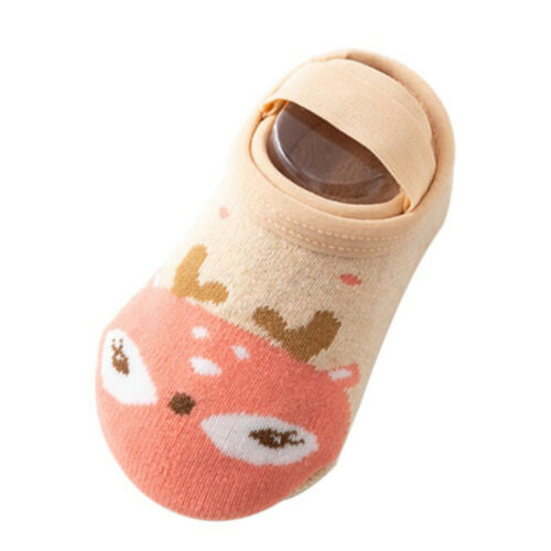 Elastic Non-Slip Children Infant Floor Socks Baby Socks Cotton Anti Slip