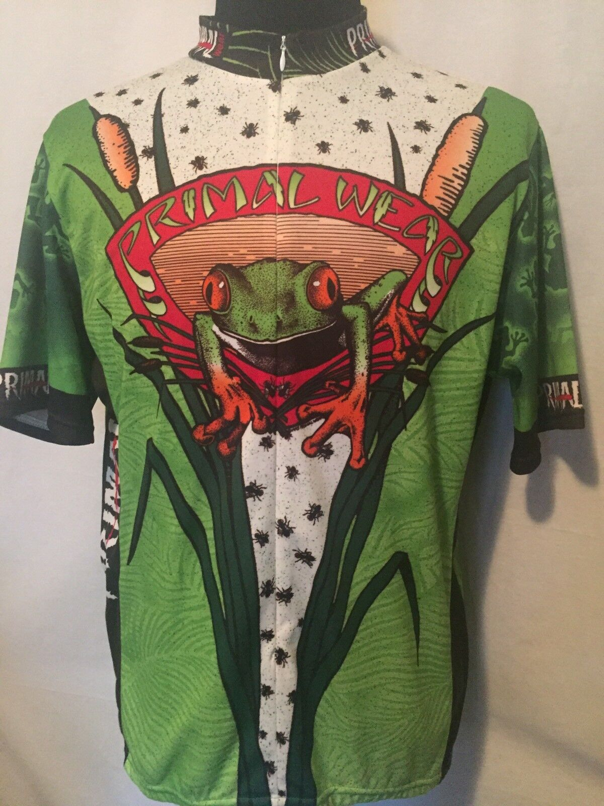 Primal Cycling Jersey 2XL XXL Men's Frog  Green  save up to 30-50% off