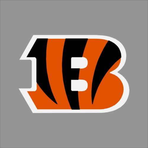 Cincinnati Bengals NFL Team Logo Vinyl Decal Sticker Car Window Wall Cornhole