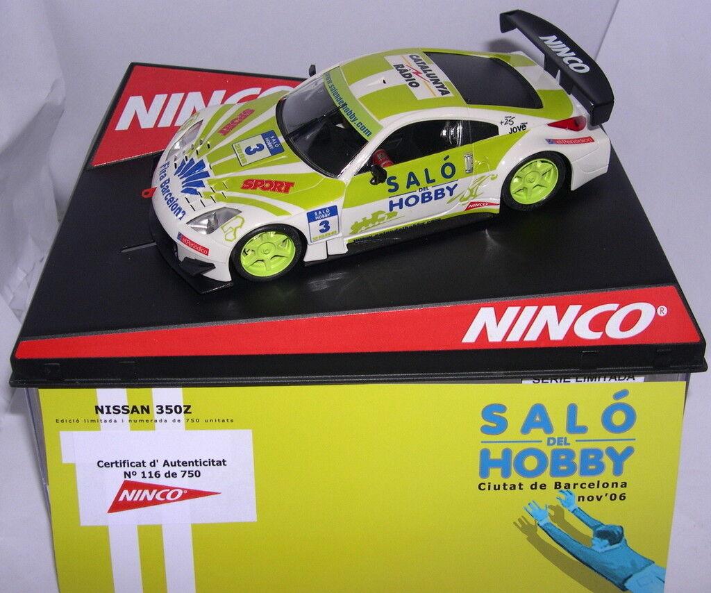 NINCO 50433 NISSAN 350Z  SALO DE LA HOBBY  DE BARCELONE 2006 EDITION LIMITÉE 750
