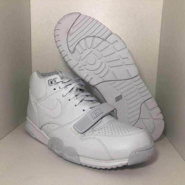 Nike Air Trainer 1 Mid Retro White Pure Platinum Sz 11.5