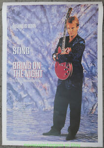 BRING-ON-THE-NIGHT-MOVIE-POSTER-STING-Reprint-1990-039-s-The-Police-26x38-Inches