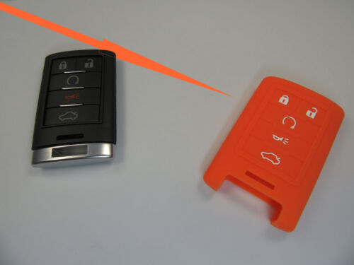 Custodia in silicone Fernbedieung SmartKey CADILAC STS DTS Escalade CTS CHEVROLET 5 T