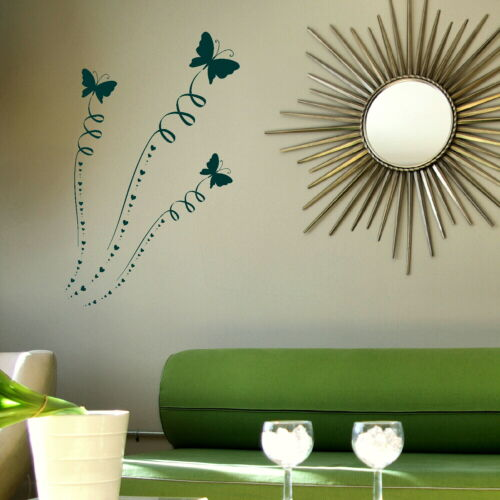 Home Transfer Butterflies Graphic Decal Decor Stencils Butterfly Wall Stickers