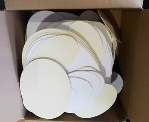 Box-of-Mount-Board-Card-Off-Cuts-Varied-Colours-Ovals-ideal-for-Craft-Projects