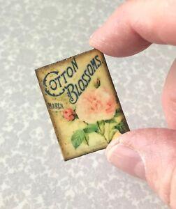Miniature-Dollhouse-Antique-tin-sign-1-12-santa-fall-shabby-chic-vintage-image