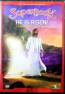SUPERBOOK: E'RISORTO! la RESURREZIONE DI GESù Chris JOY Gizmo Nuovo di Zecca DVD