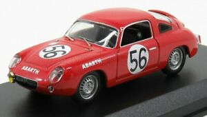 BEST-MODEL 1/43 FIAT | ABARTH 700S N 56 24h LE MANS 1961 BASSI - RIGAMONTI | RED