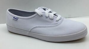 29dc7b28aaba61 Image is loading Keds-Women-039-s-Champion-White-Canvas-Shoes-