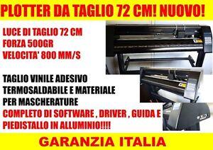 Plotter cutting redsail rs720c vinyl adhesive new warranty italian ...