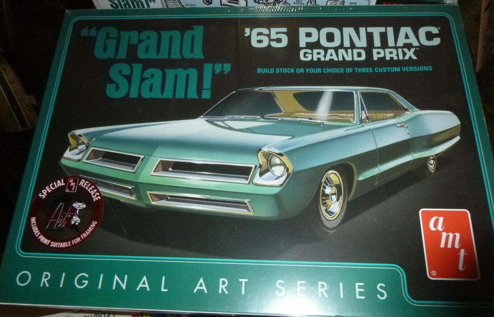 Amt 38175 1965 Pontiac Grand Prix 3n1 1 25 Model Car Mountain Comp For Sale Online Ebay