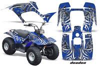 Yamaha Breeze 125 Graphics Sticker Kit Amr Racing Atv Quad Decal 89-07 Deaden Bu