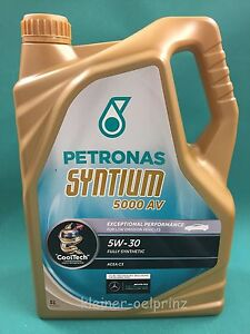 5 litri petronas syntium 5000av 5w 30 longlife 3 vw. Black Bedroom Furniture Sets. Home Design Ideas