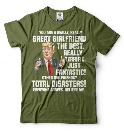 Girlfriend Birthday Gift Ideas Anniversary Gift For Girlfriend Funny Trump Shirt