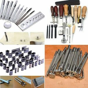 vintage leather stamping tools. image is loading professional-vintage-leather-craft-working-tools-stamping -stitching- vintage leather stamping tools