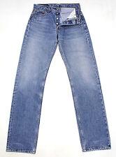 VINTAGE LEVI'S 501 BLUE ULTIMATE DENIM HIGH WAISTED BOYFRIEND JEANS W28 L33 L854