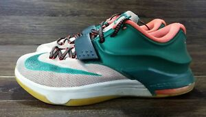 773c73becc63 Nike KD 7 VII Easy Money Kevin Durant Sneakers Size 9.5 653996-330 ...