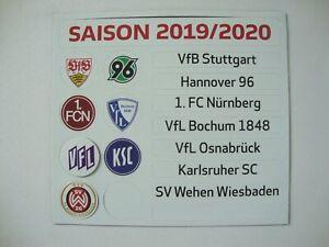 Update Set 2 Bundesliga Magnettabelle 19 20 Tabelle Dfl 2019 2020 2 Liga H96 Vfb Ebay