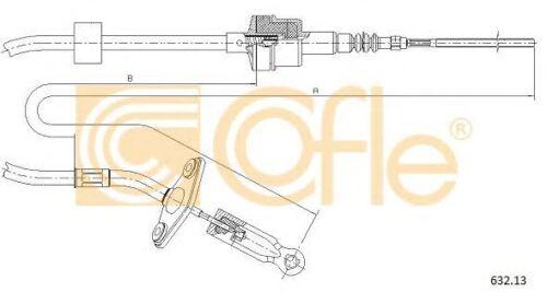 Cavo comando Comando frizione COFLE 92.632.13 FIAT