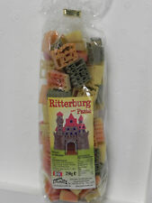 2x 250g bunte Motiv-Nudeln,Ritter,Ritterburg,Kinder-Geburtstag,Pasta,Party,