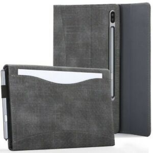Samsung-Galaxy-Tab-S6-10-5-Case-Cover-Stand-with-Document-Pocket-amp-Sleep-Wake