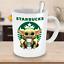thumbnail 2 - STARBUCKS Baby Yoda Funny Yoda Starbucks Coffee Mug Gift|Star Wars Yoda Fan Gift