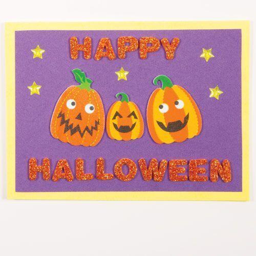 Pumpkin Halloween Foam Stickers Card Making Scrapbook Design Bag Filler Free P/&P