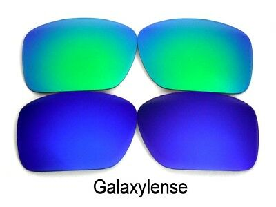 100% Vero Galaxy Anti-sea Lenti Per Costa Del Mar Blackfin Sole Blu/verde Polarizzati