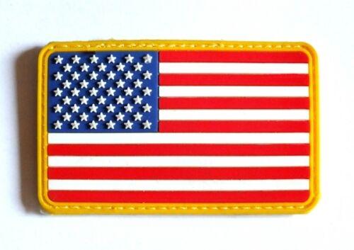 US Flag Fahne Army Uniform USA Flagge color Klettabzeichen 3D Abzeichen patch
