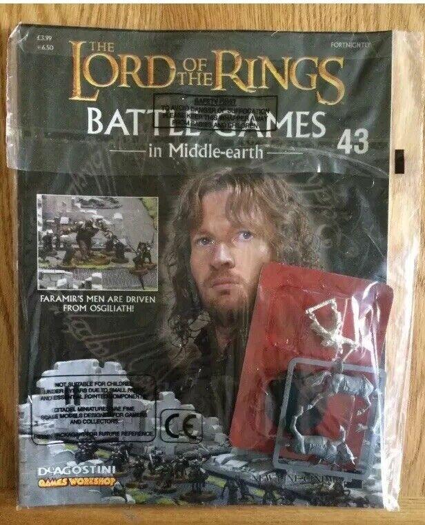 8 Nuevo Sellado Sellado Sellado El Señor De Los Anillos Batalla juegos en revistas & Figuras de tierra media  alta calidad general