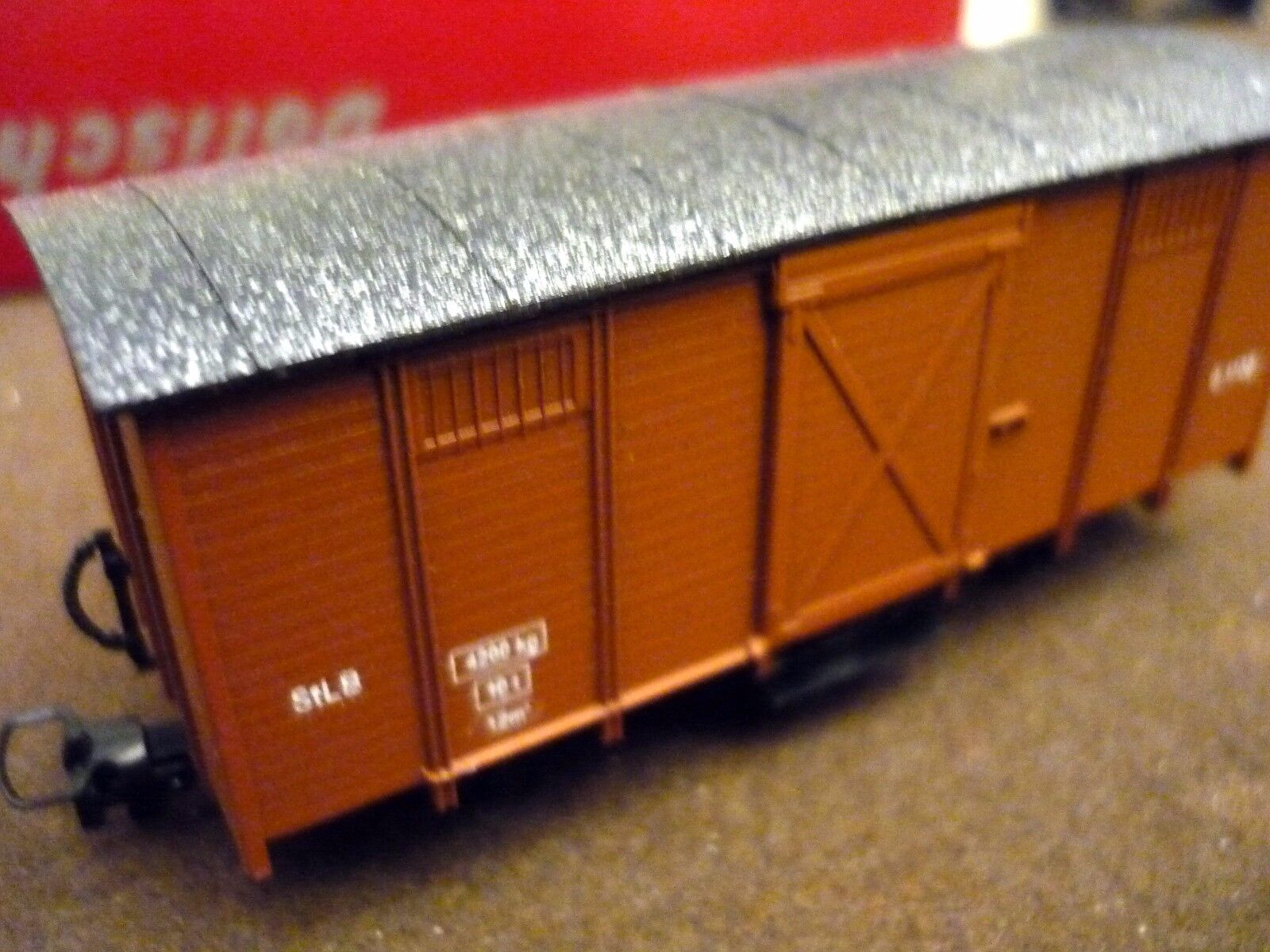 Dolischo H0e 0111  Freight Car of StLB,never used