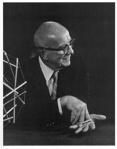 Buckminster-Fuller-Portraet-Druck-durch-die-Karsh