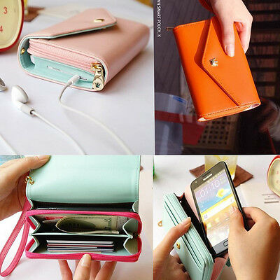 New Multifunctional Envelope Wallet Purse Phone Case for Apple iPhone 6 / 6 Plus