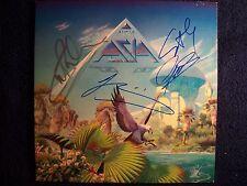 ASIA John Wetton KING CRIMSON Signed Autographed Album Cover By 4 RARE