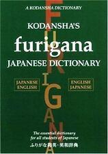 Kodansha's Furigana Japanese Dictionary: Japanese-English English-Japanese, Yosh
