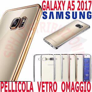 custodia silicone galaxy a5 2017