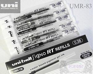 UMR-83 Uni Signo RT refills for UMN-138 x  5pcs BLACK
