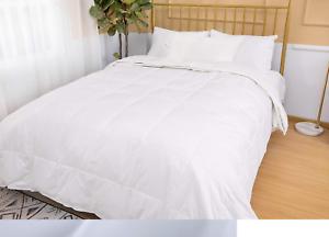 Edredon-De-Plumas-de-pato-de-lujo-edredon-nuevo-hotel-Calidad-Suave-reconfortante-dormir-13-5-Tog