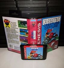 Dr. Robotnik's Creature Capture - Video Game for Sega Genesis! Cart & Box!