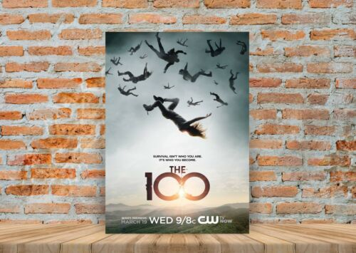 A3 A4 Sizes The 100 TV Show Poster or Canvas Art Print