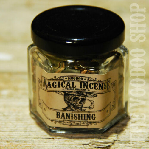 Magic Conjure Incense Banishing Räucherwerk Bannung Jemanden bannen