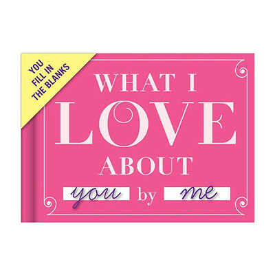 Knock Knock What I Love About You Journal Fill In The Blank Valentine's D Gift