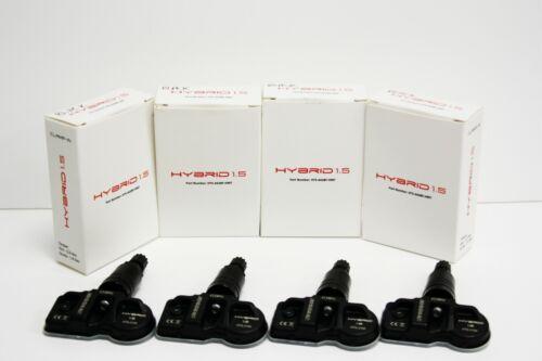 4 X Negro TPMS sensores se ajusta Lexus GS 2005-2012 Sensor de la presión del neumático